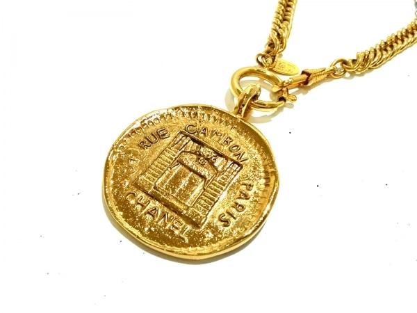 CHANEL(シャネル) ネックレス美品  金属素材 ゴールド 31 RUE CAMBON