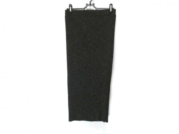 demylee(デミリー) スカート サイズS レディース 黒×アイボリー ニット