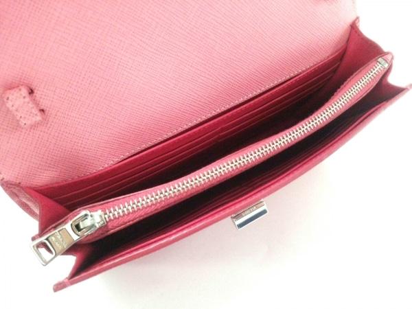 965cab979e17 ... PRADA(プラダ) 財布美品 - BT1020 ピンク ショルダーウォレット ...
