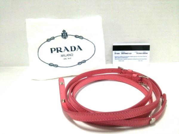 1c8aa8a87b76 ... PRADA(プラダ) 財布美品 - BT1020 ピンク ショルダーウォレット 9