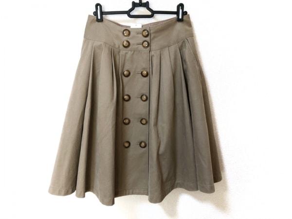 Lois CRAYON(ロイスクレヨン) スカート サイズM レディース美品  ライトブラウン