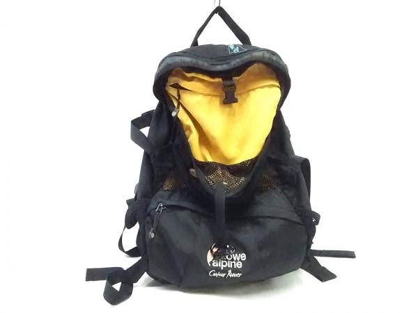 Lowe Alpine(ロウアルパイン) リュックサック 黒×イエロー ナイロン