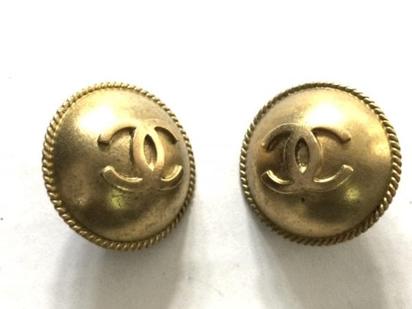 be24d2f52b31 CHANEL(シャネル) イヤリング 金属素材 ゴールド ココマーク