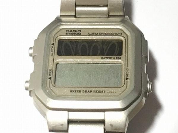 CASIO(カシオ) 腕時計 - LIN-155 メンズ グレー