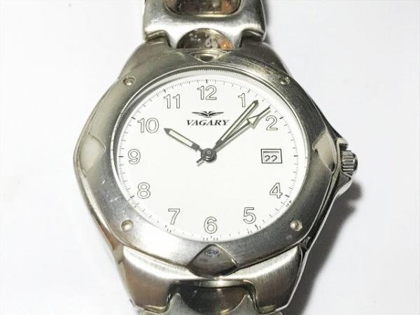 VAGARY(ヴァガリー) 腕時計 5F10-I0005-1 メンズ 白