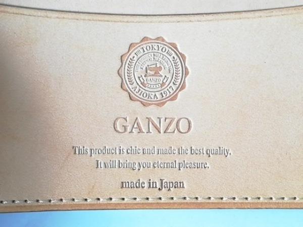 GANZO(ガンゾ) 名刺入れ ダークブラウン レザー