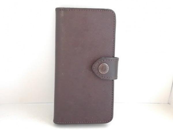 SABLE CLUTCH(セーブルクラッチ) 携帯電話ケース ダークブラウン iPhoneケース レザー