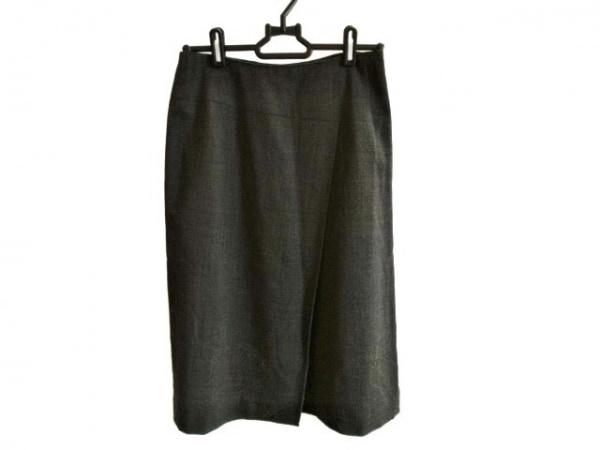 LANVIN(ランバン) スカート サイズ36 S レディース グレー