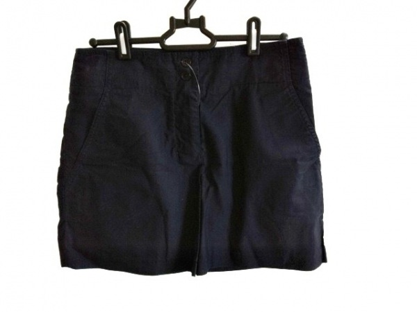JILSANDER(ジルサンダー) ミニスカート サイズ36 S レディース ネイビー