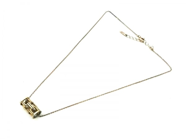 CELINE(セリーヌ) ネックレス シルバー×金属素材