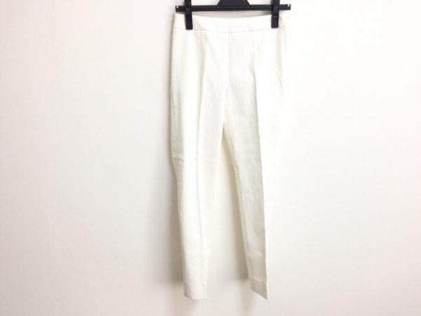 MAXMARA STUDIO(マックスマーラスタジオ) パンツ サイズ36 S レディース 白