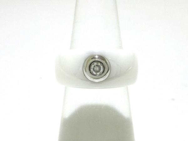 MAUBOUSSIN(モーブッサン) リング 55美品  レトワール・デュ・デモンリング 1Pダイヤ