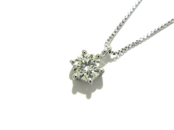 田崎真珠(タサキシンジュ) ネックレス新品同様  Pt850×Pt900×ダイヤモンド