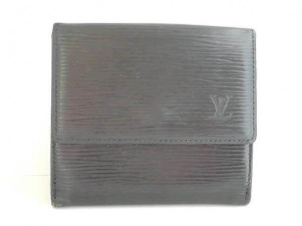 ルイヴィトン Wホック財布 エピ ポルト モネ・ビエ カルト クレディ M63482 ノワール