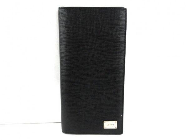LOEWE(ロエベ) 札入れ美品  - 150.30.304 黒 レザー