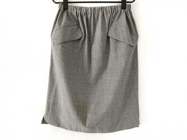 MARLENEDAM(マーレンダム) スカート サイズ40 M レディース美品  グレー