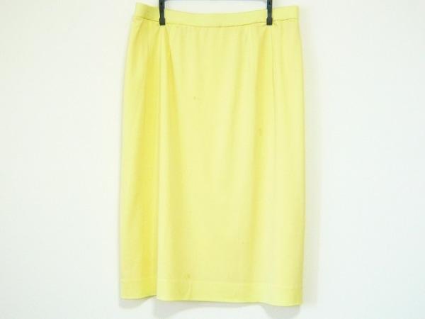 LEONARD(レオナール) スカート サイズ76 レディース イエロー