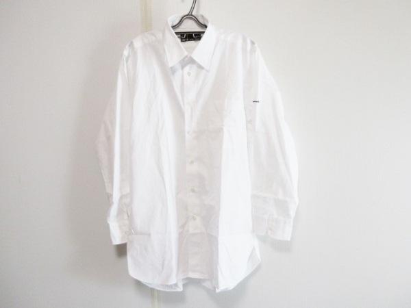 dunhill/ALFREDDUNHILL(ダンヒル) 長袖シャツ サイズGI メンズ 白 イニシャル刺繍