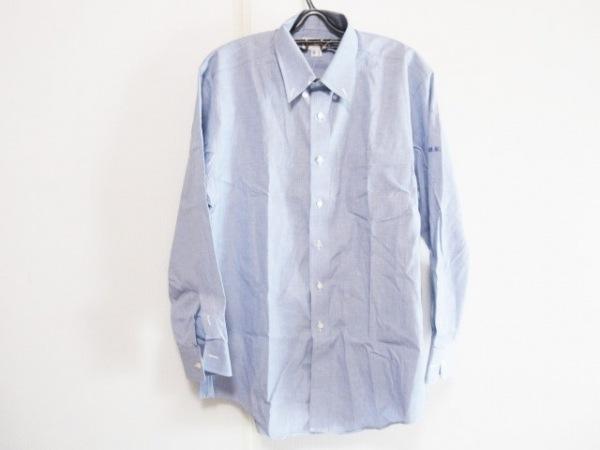 DAKS(ダックス) 長袖シャツ サイズGI メンズ ブルー イニシャル刺繍