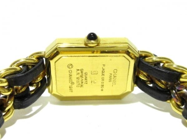 CHANEL(シャネル) 腕時計 プルミエール H0001 レディース サイズ:S 黒