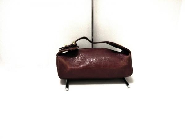 Cartier(カルティエ) ハンドバッグ - ボルドー レザー