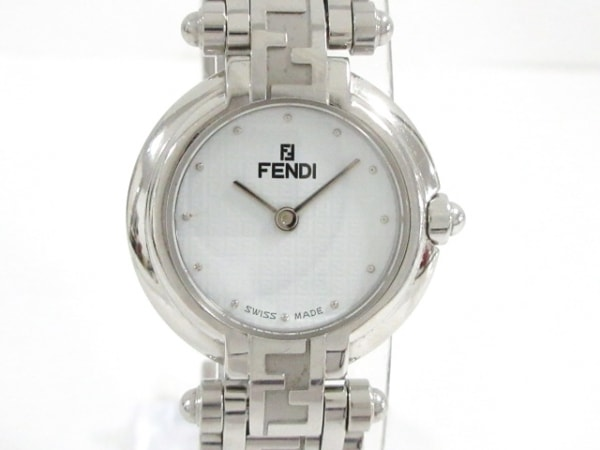 FENDI(フェンディ) 腕時計美品  750L レディース 白