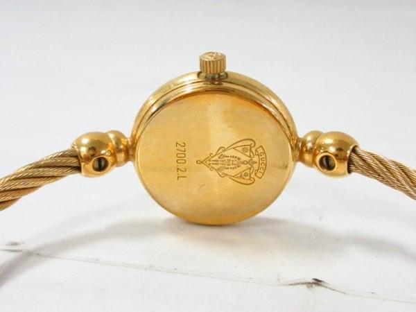 GUCCI(グッチ) 腕時計美品  2700.2.L レディース 黒