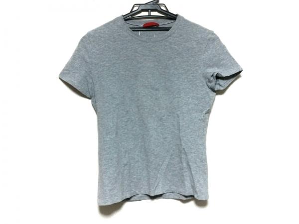 PRADA SPORT(プラダスポーツ) 半袖Tシャツ サイズL レディース美品  グレー