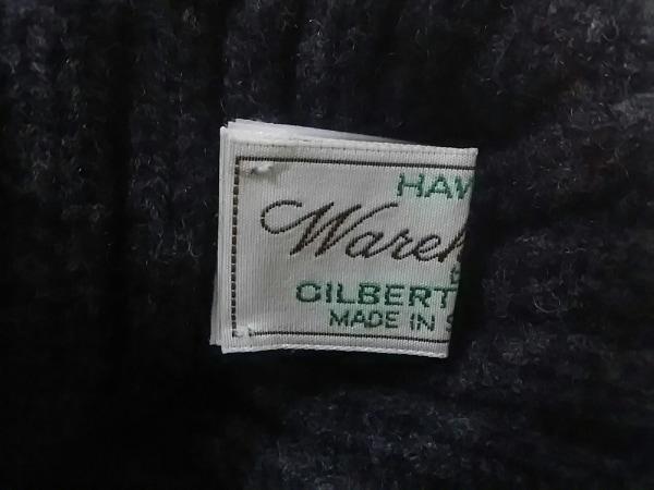 WAREHOUSE(ウエアハウス) ニット帽新品同様  ダークグレー ウール