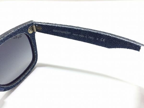 5fed0ac508896f ... Ray-Ban(レイバン) サングラス美品 RB2140 黒×ネイビー プラスチック×デニム ...