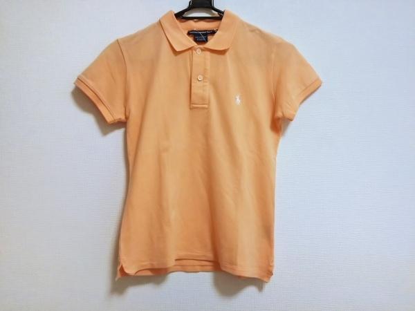 ラルフローレンゴルフ 半袖ポロシャツ サイズXS レディース オレンジ