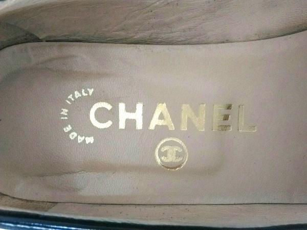 CHANEL(シャネル) パンプス 35 レディース 黒 スエード×レザー
