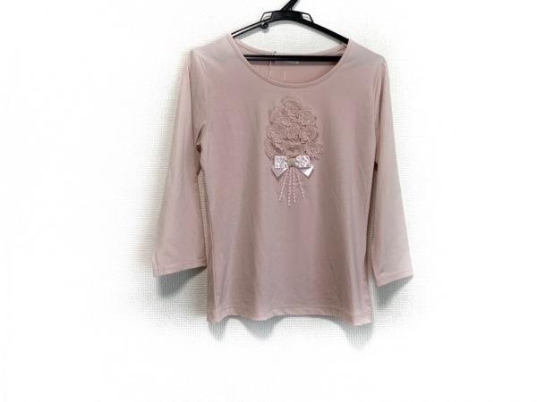 ギャラリービスコンティ 長袖カットソー サイズ2 M レディース美品  ピンク