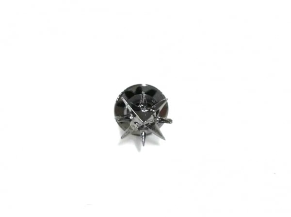 N.Hoolywood(エヌハリウッド) ネクタイピン美品  金属素材 黒