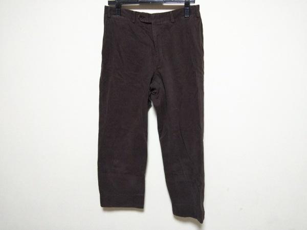 CANALI(カナーリ) パンツ サイズ48 XL メンズ ダークブラウン ベロア