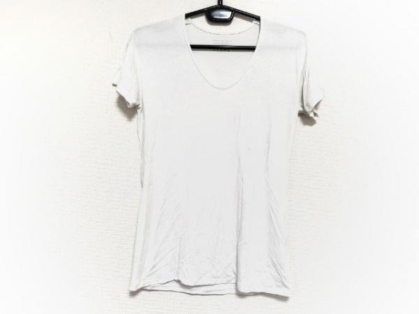theory luxe(セオリーリュクス) 半袖Tシャツ サイズ38 M レディース新品同様  白