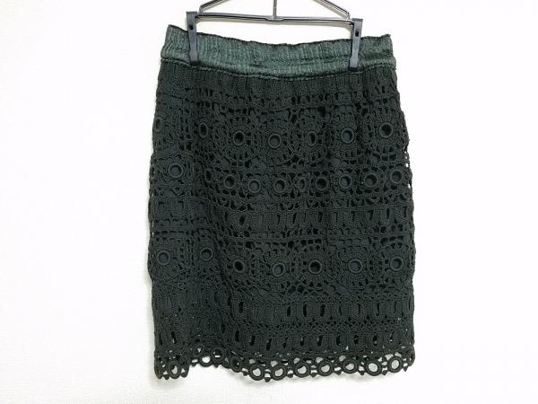ADORE(アドーア) スカート サイズ38 M レディース美品  カーキ レース/ウエストゴム