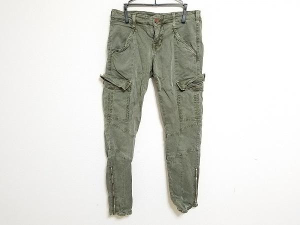 ジェイブランド パンツ サイズ26 S レディース カーキ カーゴパンツ/裾ジップ