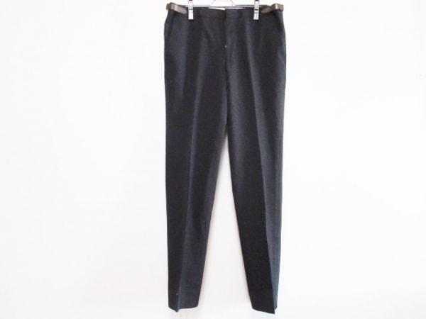 HERMES(エルメス) パンツ メンズ 黒×ブラウン