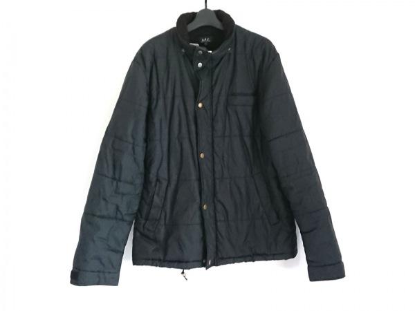 A.P.C.(アーペーセー) ダウンジャケット サイズ2 M メンズ 黒 冬物/中綿