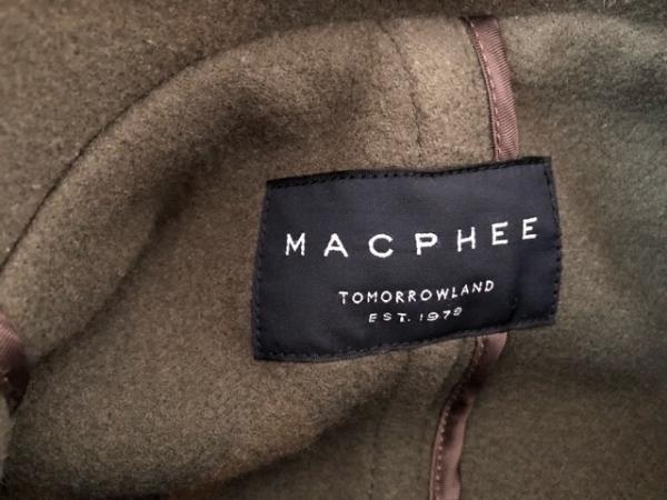 MACPHEE(マカフィ) ダッフルコート サイズ36 S レディース ダークグリーン