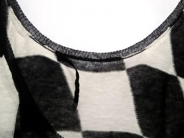 ハイダーアッカーマン タンクトップ サイズS メンズ アイボリー×黒