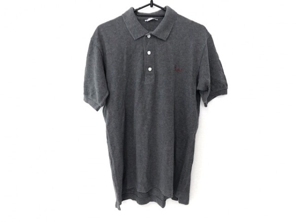 Papas(パパス) 半袖ポロシャツ サイズS メンズ美品  グレー