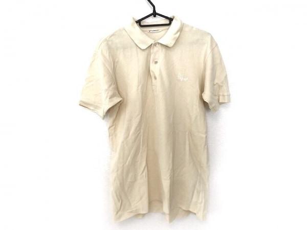 Papas(パパス) 半袖ポロシャツ サイズ46 XL メンズ美品  ベージュ