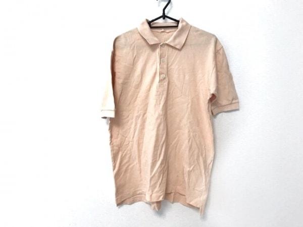 Papas(パパス) 半袖ポロシャツ サイズS メンズ ピンク