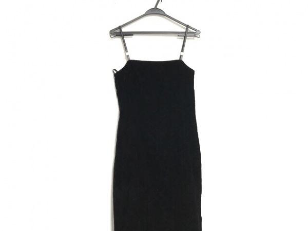ジバンシー ドレス サイズ12 L レディース美品  黒 ベロア/マキシ丈/HI FORMAL