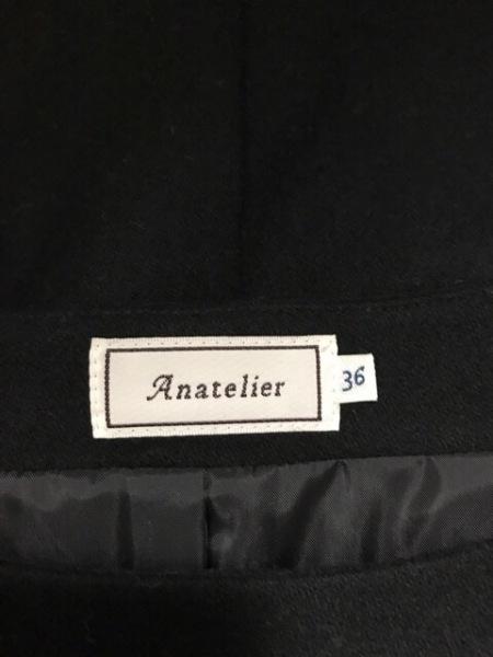 anatelier(アナトリエ) ワンピース サイズ36 S レディース美品  黒