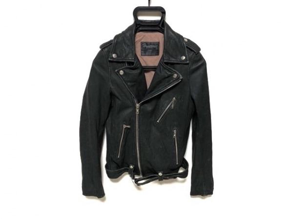 HYSTERIC(ヒステリック) ライダースジャケット サイズF レディース 黒