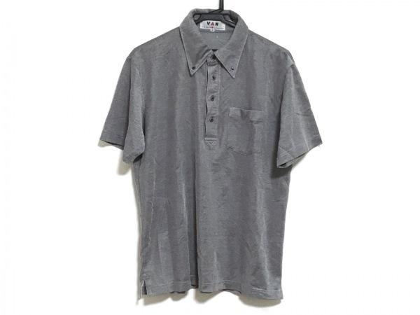VAN(バン) 半袖ポロシャツ サイズM メンズ ダークグレー