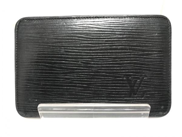 ルイヴィトン カードケース エピ ポルトカルトヴィジットデポッシュ M56592 ノワール